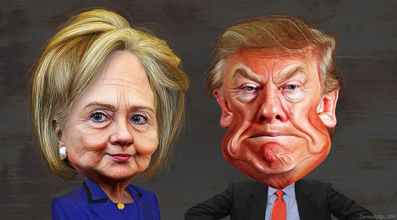 Trump mot Hillary