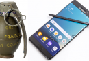Samsung Note 7 erstatter håndgranater