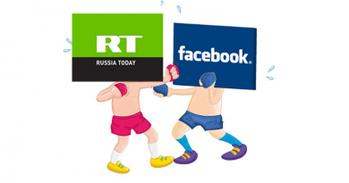 facebook blokkerte russia today