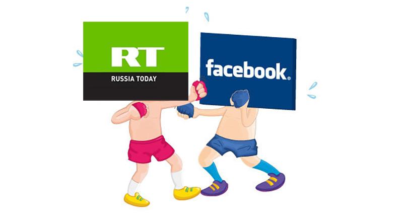facebook blokkerte russia today
