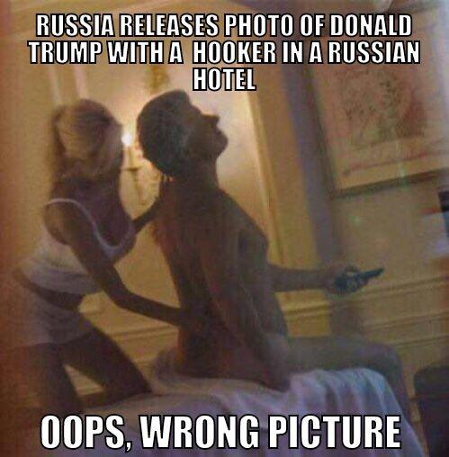 Russland friga bilde av Donald