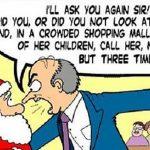 9 julehilsner fra julenissen og hans hjelpere