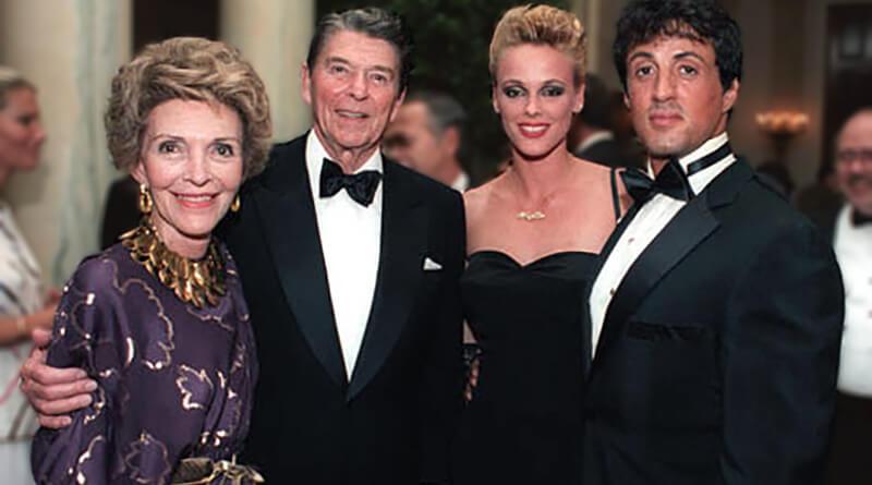 Sylvester Stallone ronald reagan